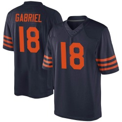Game Taylor Gabriel Youth Chicago Bears Navy Blue Alternate Jersey - Nike