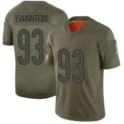 Limited James Vaughters Youth Chicago Bears Camo 2019 Salute to Service Jersey - Nike