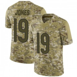 Limited Redford Jones Youth Chicago Bears Camo 2018 Salute to Service Jersey - Nike